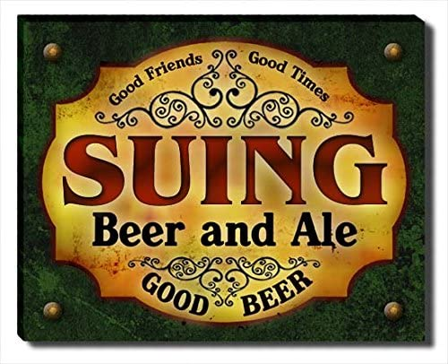Suing Beer and Ale Max 69% OFF Canvas Print Dallas Mall Gallery Wrapped
