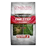 Pennington 100086822 One Step Complete Grass Seed For Sun & Shade Areas, 8.3 Pounds