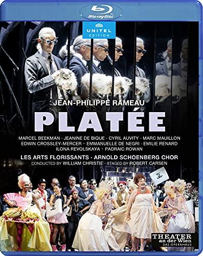ラモー : プラテー / ウィリアム・クリスティ、レザール・フロリサン (Jean-Philippe Rameau : Platée / William Christie, Les Arts Florissants Staged by Robert Carsen) [Blu-ray] [Import] [Live] [日本語帯・解説付]
