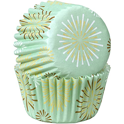 Wilton 100 Count Mini Starburst Baking Cups, Assorted
