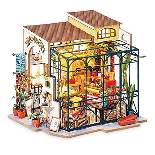 Robotime Miniatura 3D Casa delle Bambole Fai da Te con Accessori e mobili Adatti Regalo Creativo...