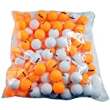 Franklin Sports Table Tennis Balls - Official Size and Weight 40mm Table Tennis Balls - One Star Professional...