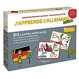 J'apprends l'allemand autrement niveau débutant : 80 cartes mentales pour apprendre facilement la grammaire, la conjugaison et le vocabulaire allemands !