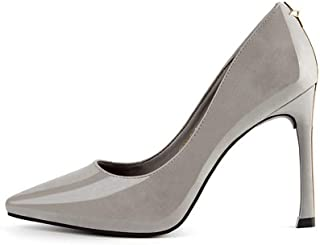 Ying-xinguang Shoes Fashion Professional OL Women's Shoes High-Heeled Pointed Stiletto Sexy Single Shoes Comfortable