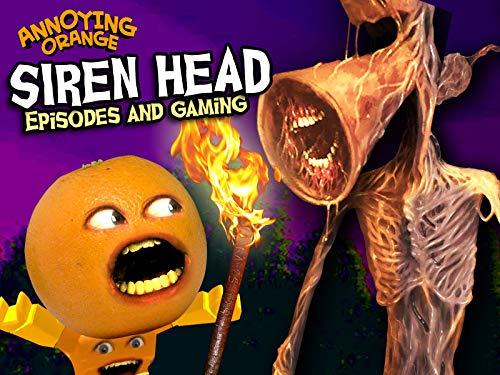 Clip: Annoying Orange - Siren Head (Episodes and Gaming)