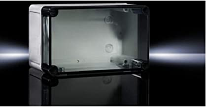 Enclosure; Polycarbonate; Clear Screw Cover; 7.1x10x6.5 In; IP66; PK Series
