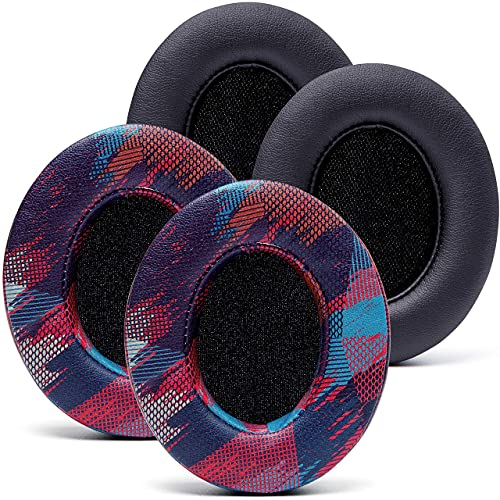 WC Design Pack Wicked Cushions Replacement Ear Pads Compatible with Beats Studio 3 Headphones - Also Fits Beats Studio 2 / Studio Wireless & Wired - Enhanced Comfort, Durability & Improved Adhesive