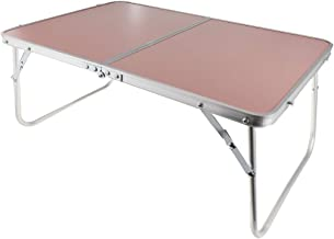 Baosity Foldable Bed Desk Laptop Table Camping Picnic Computer Support Dining Table