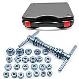Futchoy Set de presión de rodamiento de rueda con caja, herramienta de montaje de buje, rodamiento interior de bicicleta, buje de bicicleta y herramienta de instalación de rodamientos de eje BB