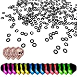 ToBeit, 200 anelli in gomma, per una tenuta ottimale delle freccette, incluse 18 alette...