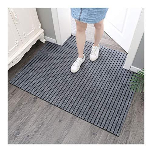 curtain Küche Anti-Skid Wasserabsorbierende und Ölbeständiges Fußmatte, Ultra-dünnes Design, Größe Can Be Cut Willkürlich (Farbe : Grau, Größe : 100X120cm)