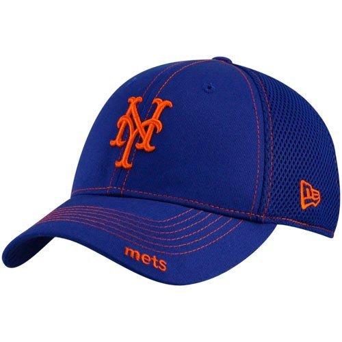 New Era MLB Neo 39THIRTY Ajuste elástico Gorra, MLB, Neo, Hombre, Color New York Mets, tamaño M/L