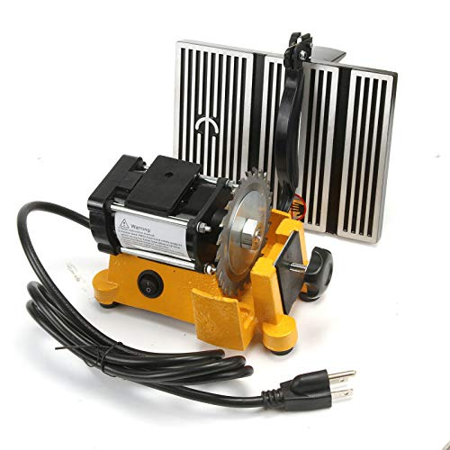 "4"" 60W MINI ELECTRIC TABLE SAW BENCH TOP GREAT ELECTRIC HOBBY CRAFT TABLE SAW DIY Power Tool Work Bench Stand Circular 2 PIECES Blades"