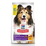 Hill's Science Diet Dry Dog Food, Adult, Sensitive Stomach & Skin, Chicken...