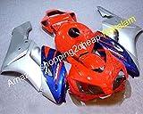 para Fairing 04 05 CBR 1000 RR CBR1000RR 2004 2005 1000RR CBR1000 Silver Blue Red Fairing Kit de motocicleta (moldeo por inyección)