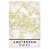 artboxONE Poster 30x20 cm Städte Amsterdam Holland Street