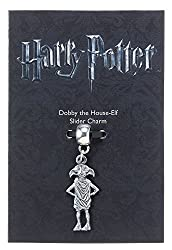 From the Harry Potter Jewellery Collection Dobby the House-Elf Charm on a silver plated charm bail Measures approx 6mm x 25mm Presented on an official Harry Potter branded card Same Day Despatch / 30 Day No Hassle Returns