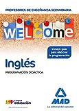 Cuerpo de Profesores de Enseñanza Secundaria Inglés. Programación Didáctica