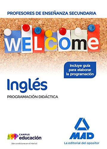 Cuerpo Profesores Enseñanza Secundaria Inglés. Programación