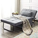 Best Sleeper Sofas - Vonanda Ottoman Folding Chair Bed, Modern Velvet Sleeper Review