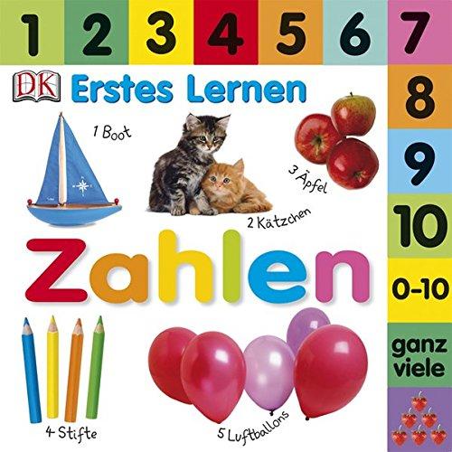 Erstes Lernen. Zahlen: Pappbilderbuch mit Griff-Register und über 100 Fotos ab 18 Monaten