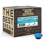 Note d'Espresso - Cápsulas de café para las cafeteras Lavazza y A Modo Mio, Decaffeinato...