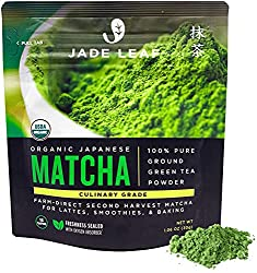 Matcha is one of the great teas for acne because it helps fight bacterial infections.