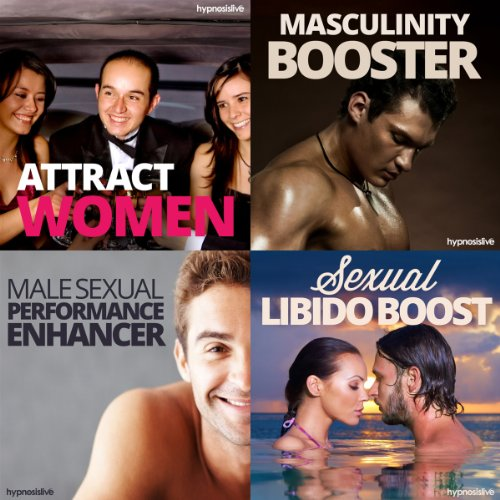 Sexual Hypnosis for Men Bundle     Become a Sizzling Sex God, with Hypnosis              By:                                                                                                                                 Hypnosis Live                               Narrated by:                                                                                                                                 Hypnosis Live                      Length: 2 hrs and 40 mins     1 rating     Overall 5.0