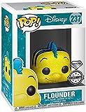 Funko Disney Pop! Disney: platija de The Little Mermaid, Tema Caliente Exclusive Diamond Edición Limitada No: 237