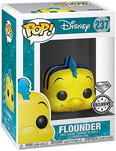 Funko Disney Pop! Disney: platija de The Little Mermaid, Tema Caliente Exclusive Diamond Edicion Limitada No: 237