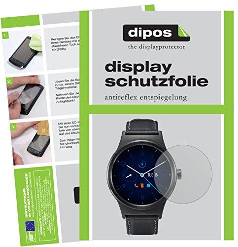 dipos I 6X Protector de Pantalla Mate Compatible con Alcatel Move Time MT10G pelicula Protectora