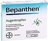 BEPANTHEN Eye Drops 20 pcs x 0.5 ml - for Dry, Irritated, Tired Eyes