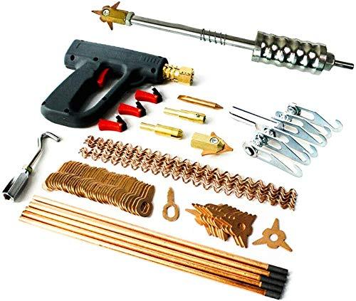 Mojiate 86Pcs Stud Welder Dent Puller Kit Spot Welding Pulling SystemFit Dent Repair of Car, Used with Car Body Dent Spot Repair Device Welder