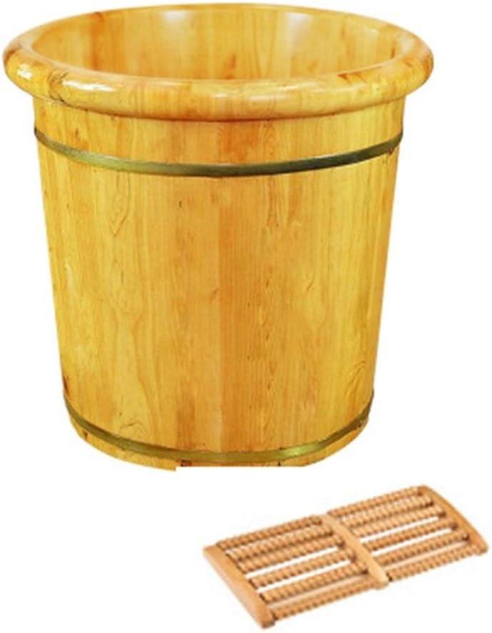 New popularity Foot Bath Barrel Sturdy Oakland Mall and Durable Wood Natural Cedar Sauna Fo