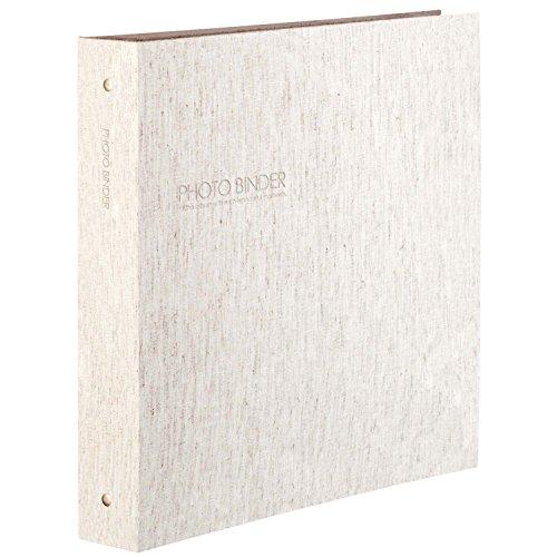 SEKISEI アルバム ポケット ハーパーハウス フォトバインダー 高透明 L600枚収容 L 300枚以上 リネン XP-3236