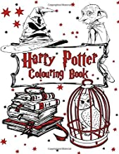 Harry Potter Colouring Book: 50+ Magical Places Characters & Creatures Design Amazing Colouring Books for Adults and Kids