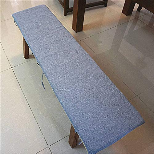 BLSTY Non Slip Cushion, Soft Comfort Seat Cushion Detachable Chair Pads Long Stool Chair Cushion for Restaurant Living Room-45x50cm(18x20inch)-O