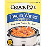 Crock Pot Tavern Wings Seasoning Mix (1.5 oz Packets) 3 Pack