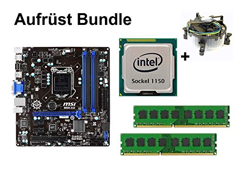 Aufrüst Bundle - MSI B85M-E45 + Intel i5-4690S + 8GB RAM #91123