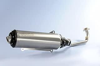 tubo medio delantero de ventilaci/ón del sistema de escape completo de la motocicleta para X-MAX 300 2017-2018 Qii lu Tubo delantero de escape