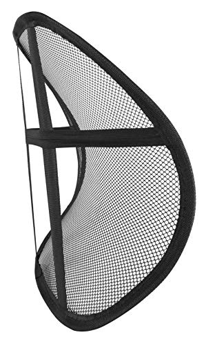 Samsonite 2 Pack 3D Mesh Lumbar Support for Office Chair and Car Seat, Super Lightweight, Breathable Materials, Universal Fit, Premium Quality, Adjustable, Back Support Cushion
