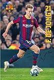 empireposter Fußball - FC Barcelona - 2020/2021 De Jong -