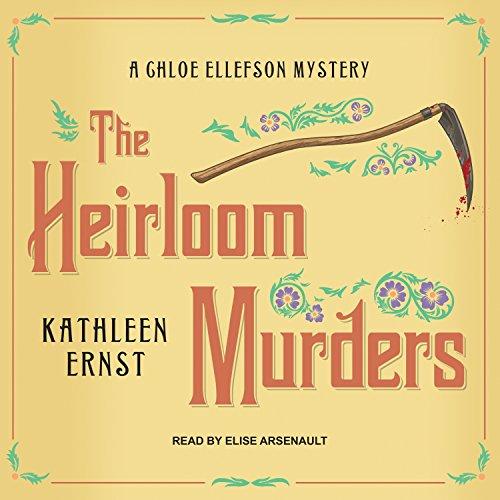 The Heirloom Murders audiobook cover art