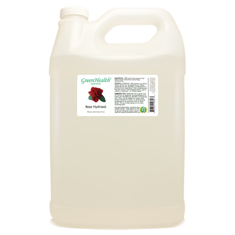Rose Hydrosol Floral Water - All stores are sold 1 Jug 100% Some reservation Plastic w Gallon Cap