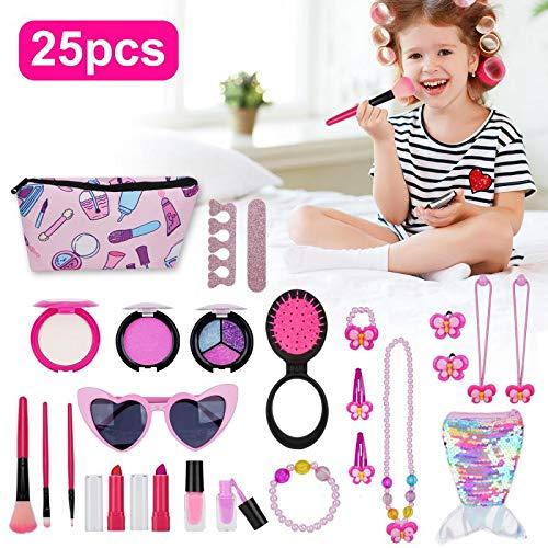 YSZJH Kids Makeup Kit for Girl - 25 Pc...