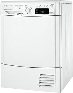 Indesit IDPE G45X A1 ECOEU Wärmepumpentrockner/A / kWh / 8 kg/Edelstahltrommel/inklusive Schuhhalterung/weiß