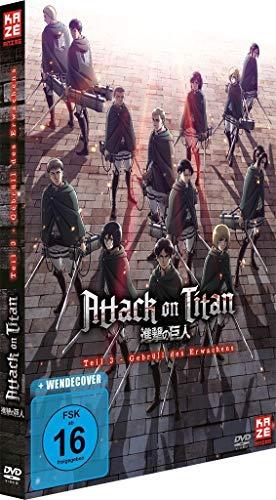 Attack on Titan - Anime Movie Teil 3: Gebrüll des Erwachens - [DVD] [Alemania]