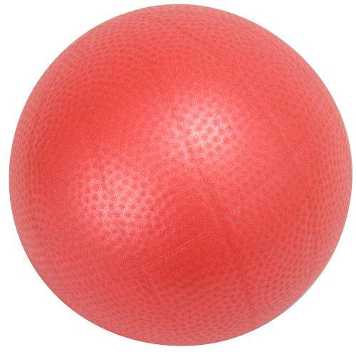 DANNO D5415 Soft Gimnik Balance Ball, Red, Diameter 9.1 inches (23 cm)