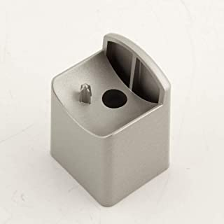 Bosch 00628998 Dishwasher Door Handle End Cap Genuine Original Equipment Manufacturer (OEM) Part Silver