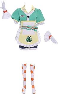 DUNHAO COS Anime Women's Mei Ling Zhou Halloween Cosplay Costume
